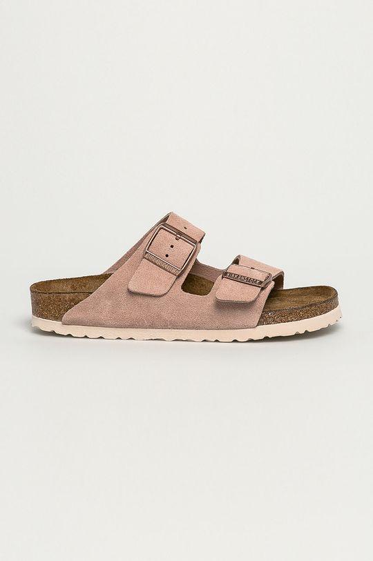 roz Birkenstock - Papuci din piele Arizona De femei