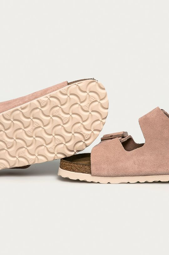 Birkenstock - Papuci din piele Arizona  Gamba: Piele intoarsa Interiorul: Piele intoarsa Talpa: Material sintetic