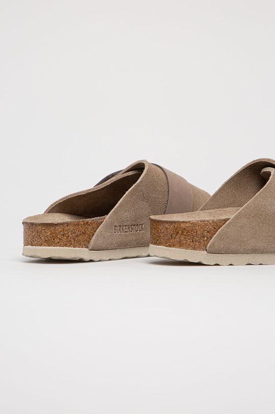 Birkenstock - Semišové pantofle Kyoto SFB  Svršek: Semišová kůže Vnitřek: Přírodní kůže Podrážka: Umělá hmota