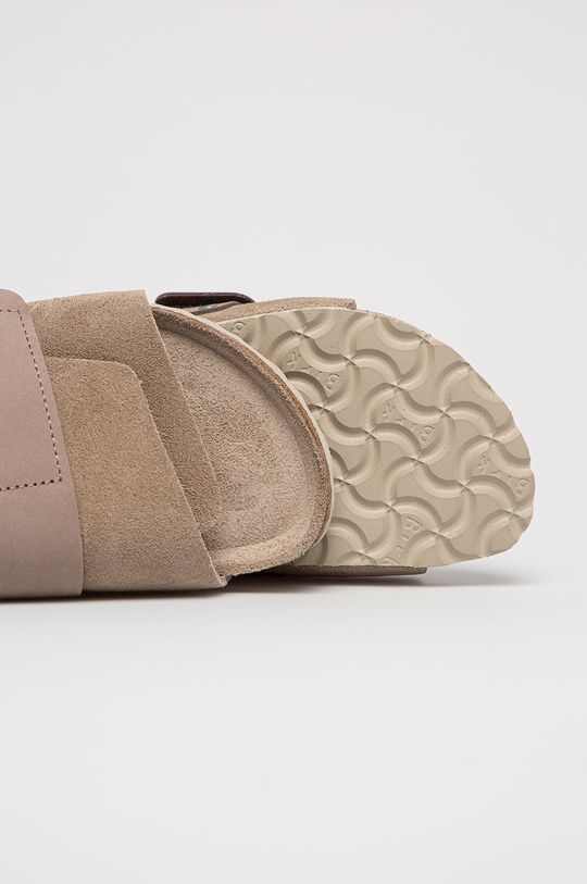 hnědá Birkenstock - Semišové pantofle Kyoto SFB