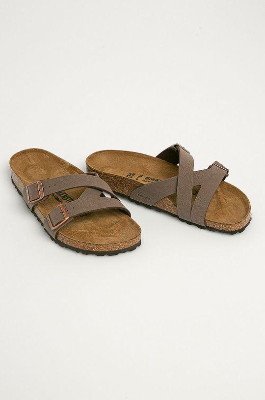 Birkenstock - Pantofle Yao Balance hnědá