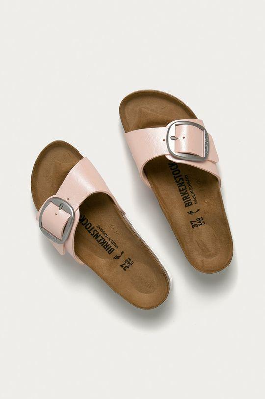 Birkenstock - Pantofle Madrid Big Buckle růžová
