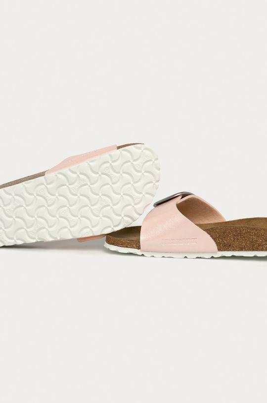 Birkenstock - Pantofle Madrid Big Buckle  Svršek: Umělá hmota Vnitřek: Textilní materiál, Přírodní kůže Podrážka: Umělá hmota