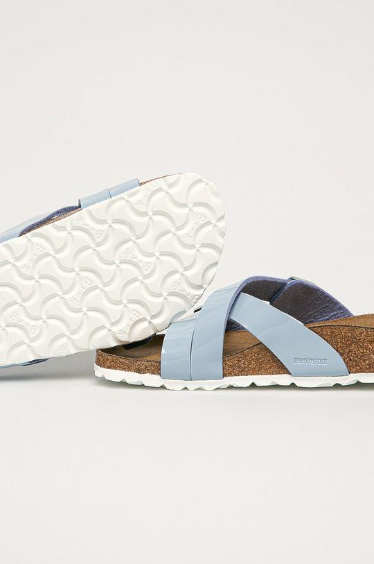 Birkenstock - Pantofle Yao Balance  Svršek: Umělá hmota Vnitřek: Textilní materiál, Přírodní kůže Podrážka: Umělá hmota