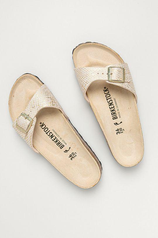 Birkenstock - Pantofle Madrid smetanová