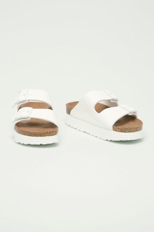 Birkenstock - Pantofle Arizona bílá