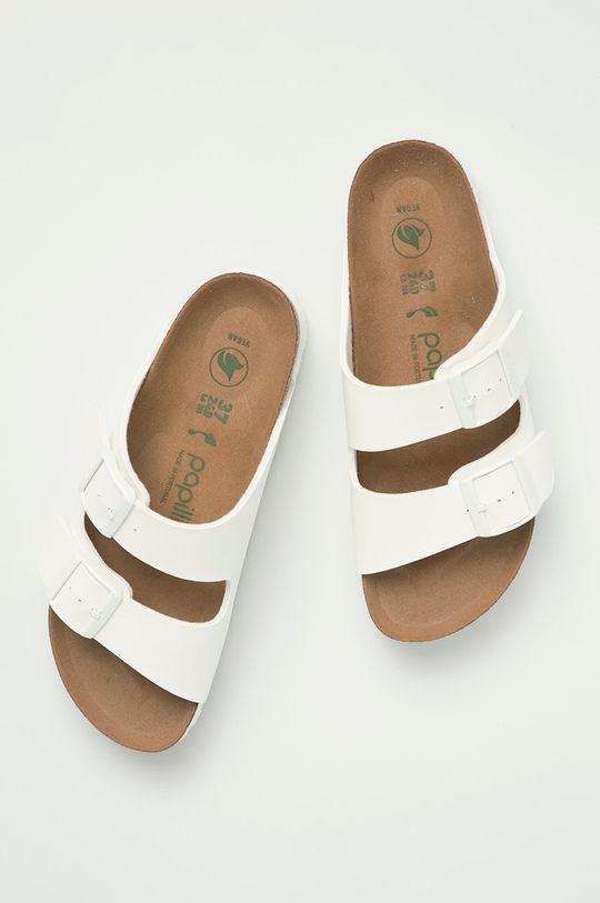 bílá Birkenstock - Pantofle Arizona