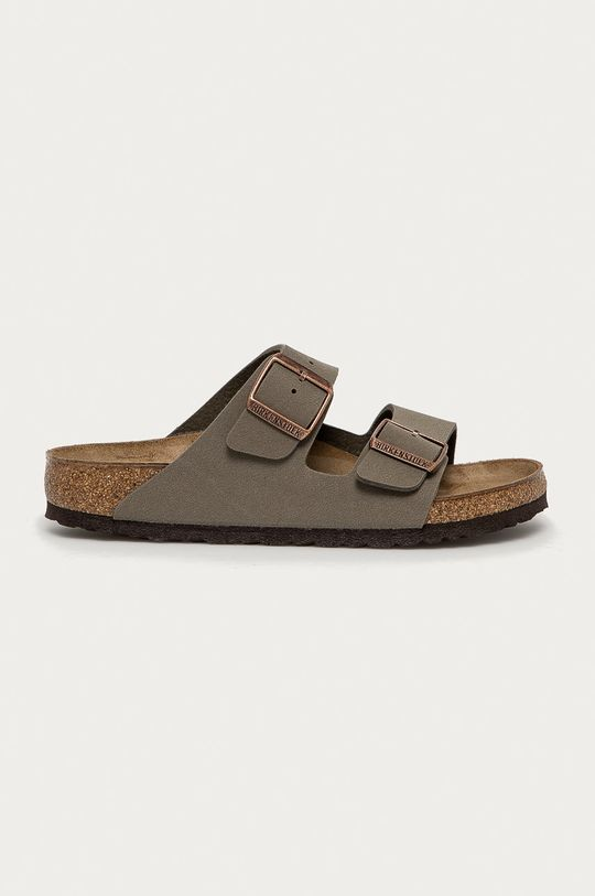 šedá Birkenstock - Pantofle Arizona Dámský