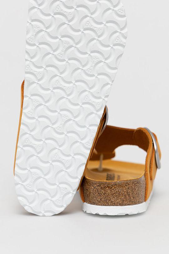 Birkenstock - Slapi de piele Gizeh  Gamba: Piele naturala Interiorul: Piele intoarsa Talpa: Material sintetic