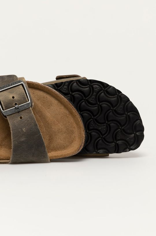zelená Birkenstock - Kožené pantofle Arizona