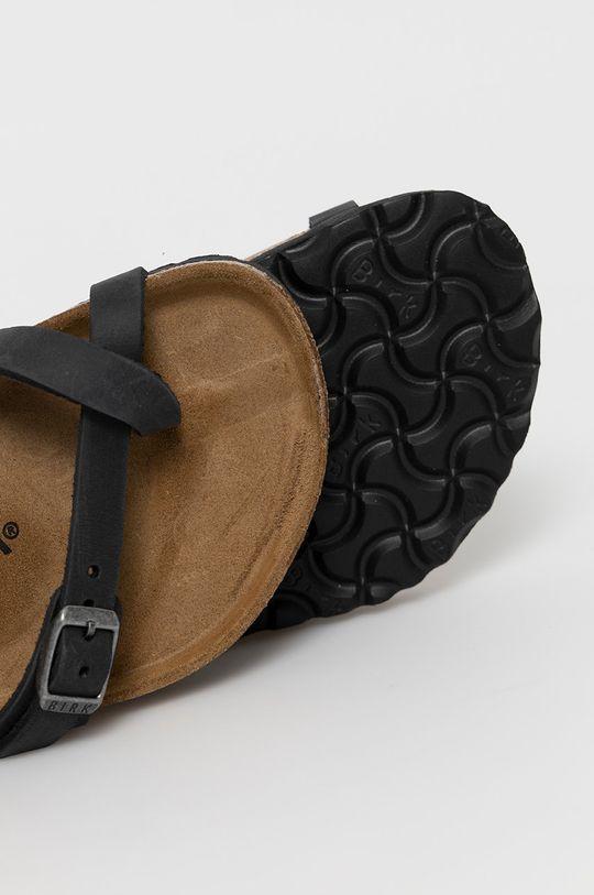 Birkenstock - Kožené pantofle Mayari  Svršek: Přírodní kůže Vnitřek: Přírodní kůže Podrážka: Umělá hmota