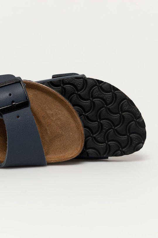 námořnická modř Birkenstock - Kožené pantofle Arizona