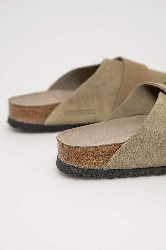 Birkenstock - Semišové pantofle Kyoto  Svršek: Semišová kůže Vnitřek: Semišová kůže Podrážka: Umělá hmota