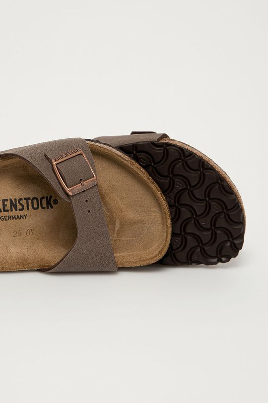 Birkenstock - Klapki Madrid Cholewka: Materiał syntetyczny, Wnętrze: Materiał tekstylny, Skóra naturalna, Podeszwa: Materiał syntetyczny