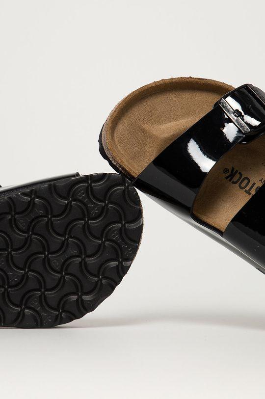 černá Birkenstock - Pantofle Arizona