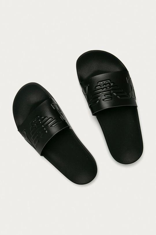 Emporio Armani - Šľapky čierna
