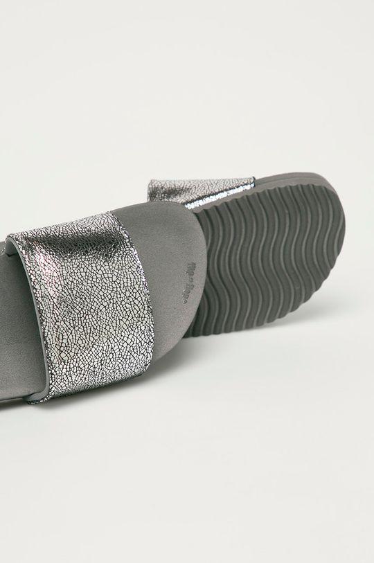 Flip*Flop - Klapki Metallic cracked Materiał syntetyczny