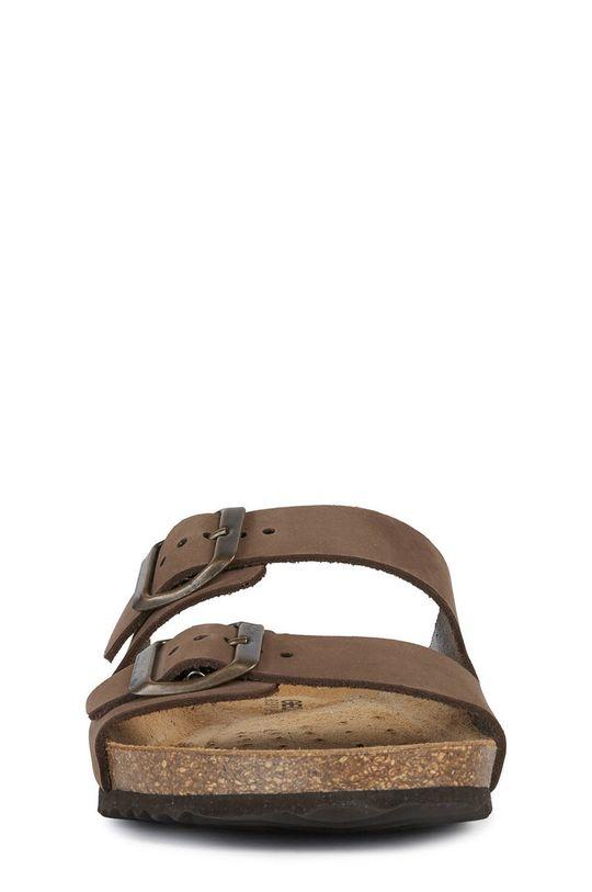 Geox - Kožené pantofle  Svršek: Přírodní kůže Vnitřek: Přírodní kůže Podrážka: Umělá hmota