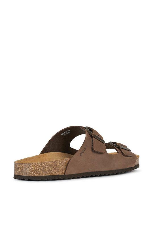 Geox - Kožené pantofle Dámský