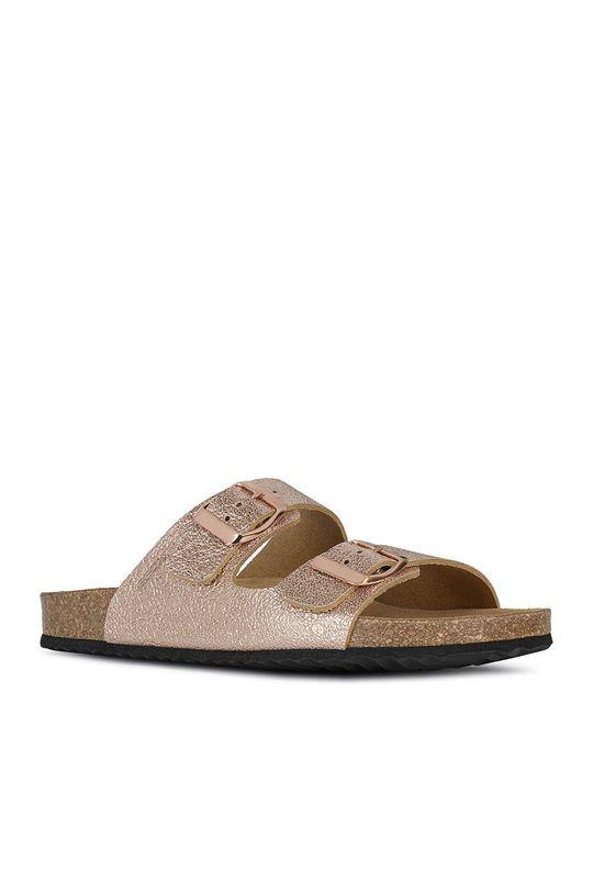 Geox - Pantofle broskvová