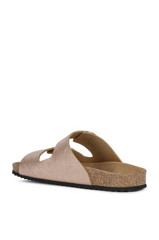 broskvová Geox - Pantofle