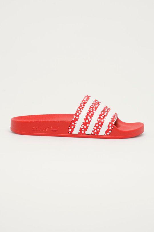 červená adidas Originals - Pantofle Adilette Dámský