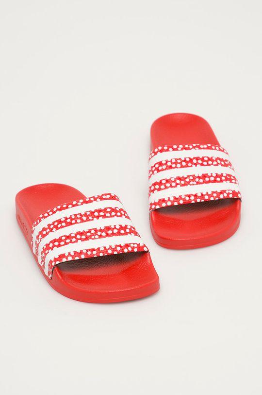 adidas Originals - Pantofle Adilette červená