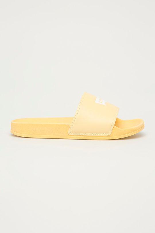 jasně žlutá Levi's - Pantofle Dámský