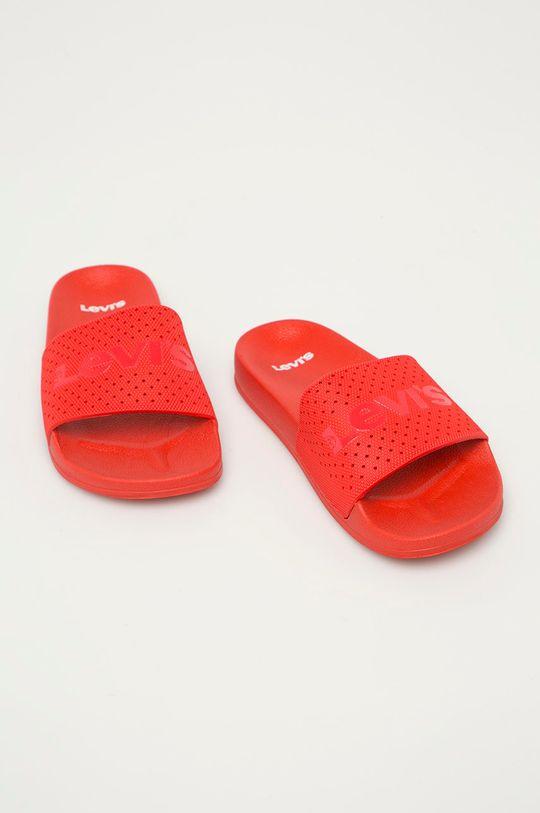 Levi's - Klapki czerwony