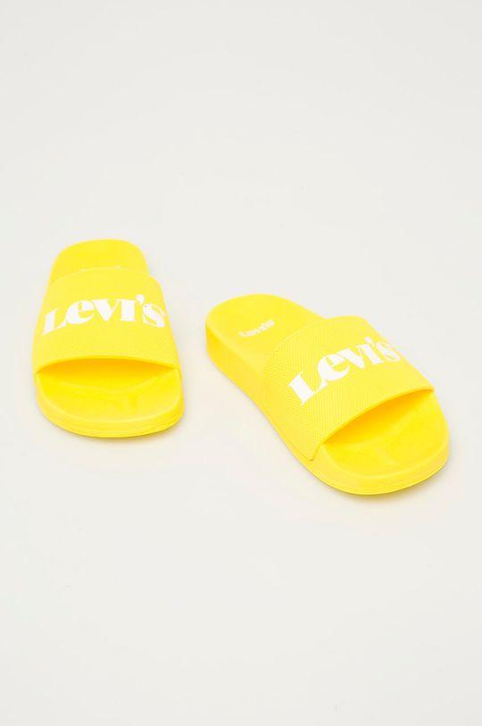Levi's - Pantofle žlutá