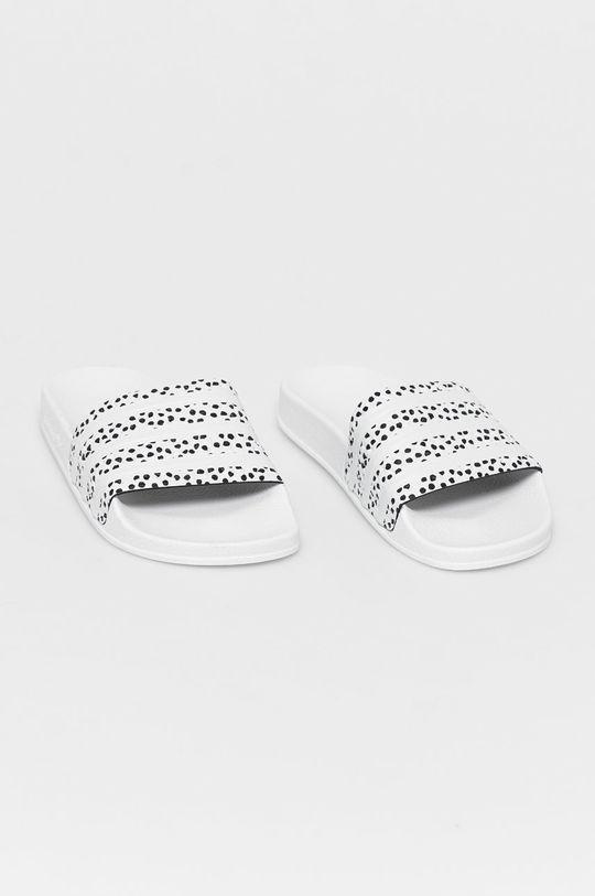 adidas Originals - Klapki biały