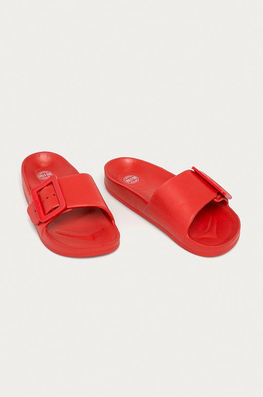 Big Star - Klapki czerwony