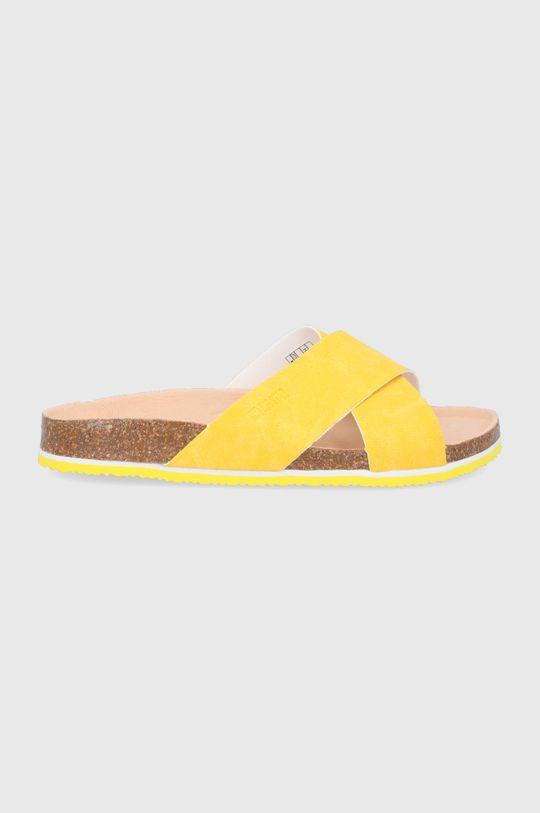 žlutá Big Star - Pantofle Dámský