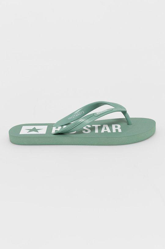 miętowy Big Star - Japonki Damski