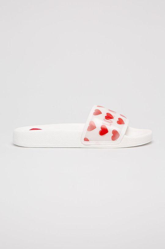 biela Love Moschino - Šľapky Dámsky