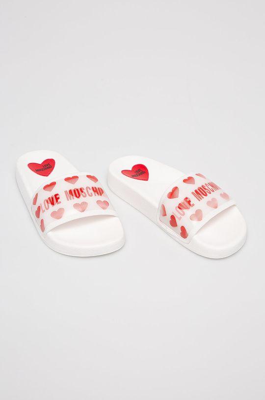 Love Moschino - Šľapky biela