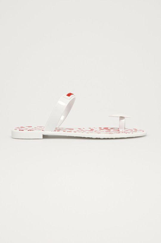 biały Love Moschino - Japonki Damski