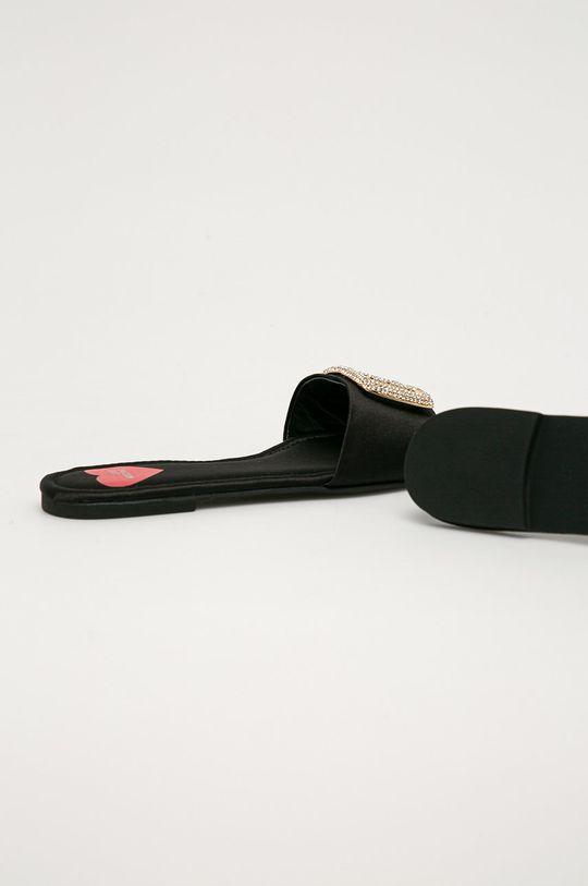 Love Moschino - Klapki Cholewka: Materiał tekstylny, Wnętrze: Materiał syntetyczny, Materiał tekstylny, Podeszwa: Materiał syntetyczny