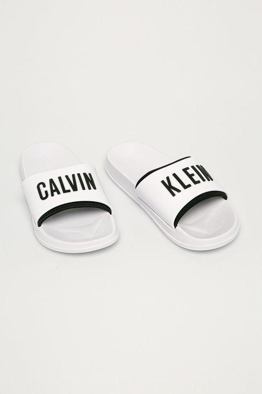 Calvin Klein Underwear - Pantofle bílá