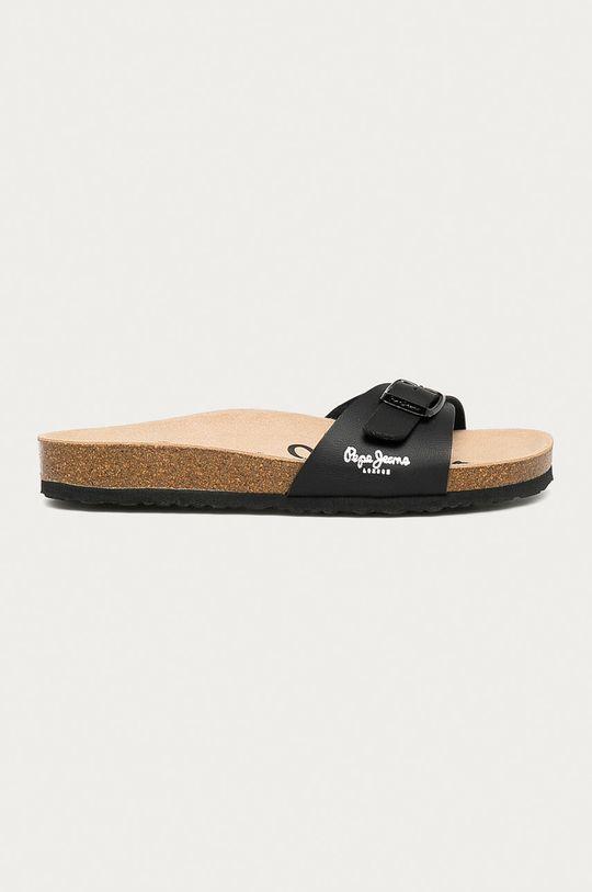 černá Pepe Jeans - Pantofle Oban Dámský