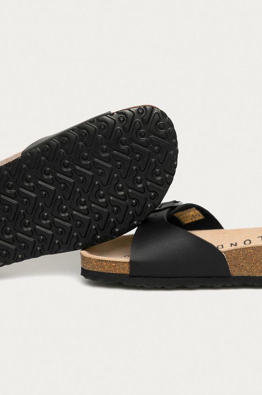 Pepe Jeans - Pantofle Oban  Svršek: Umělá hmota Vnitřek: Textilní materiál, Přírodní kůže Podrážka: Umělá hmota