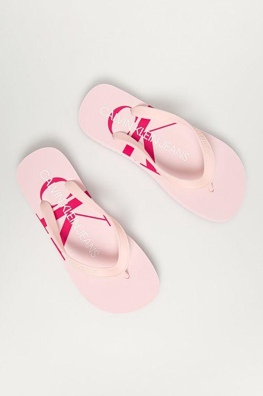 Calvin Klein Jeans - Žabky růžová