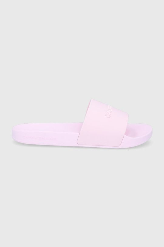 ružová Calvin Klein Jeans - Šľapky Dámsky