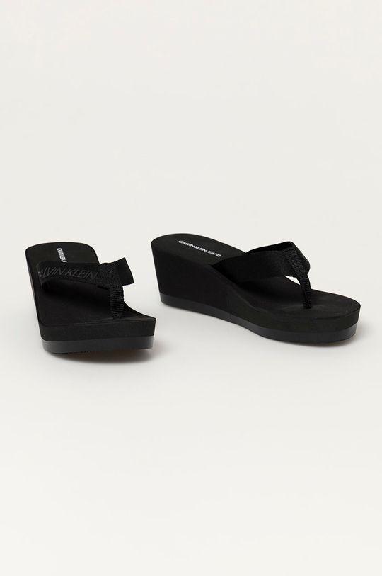 Calvin Klein Jeans - Japonki czarny