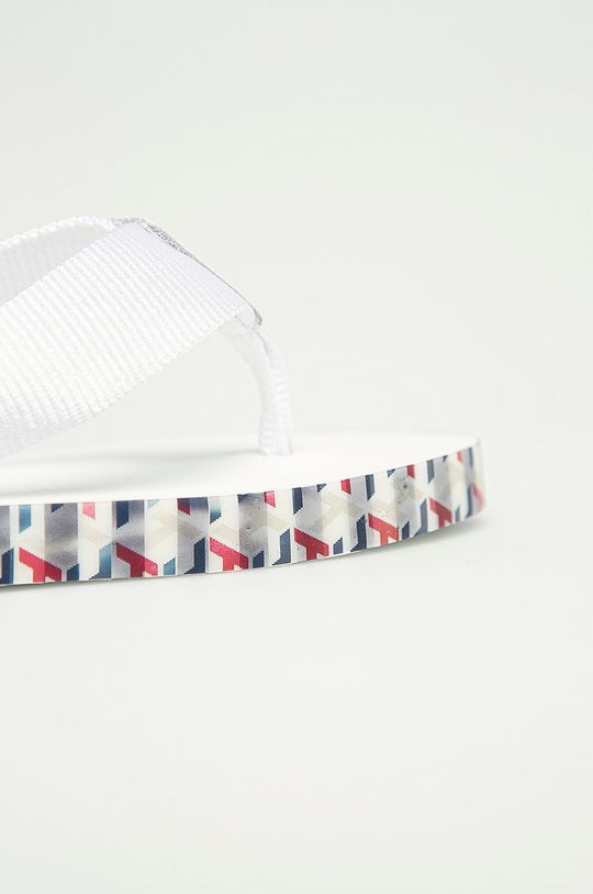 alb Tommy Hilfiger - Papuci