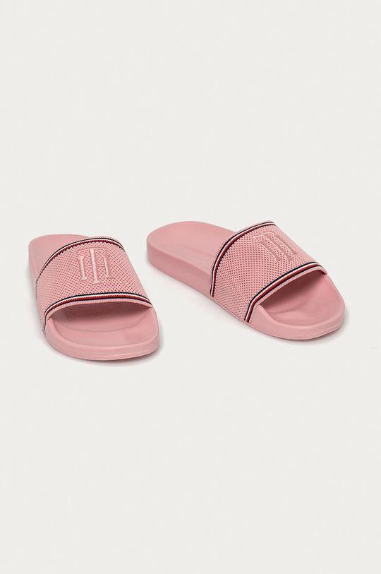 Tommy Hilfiger - Pantofle růžová