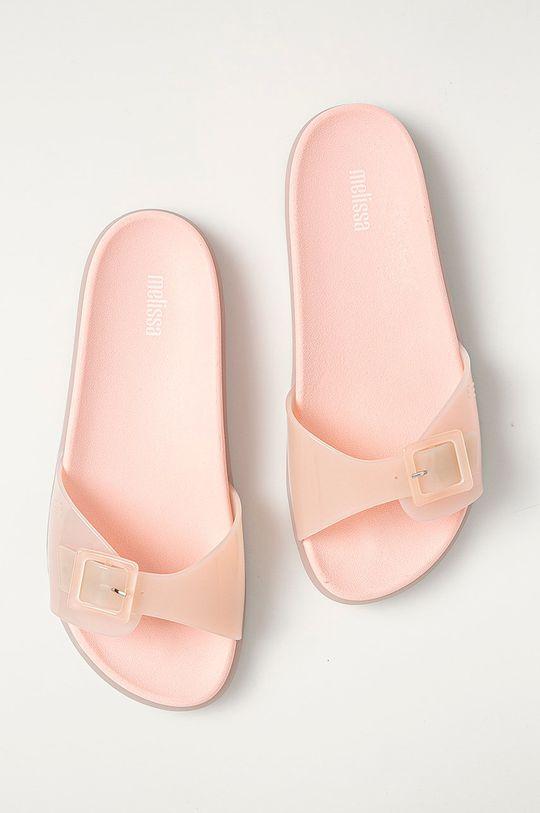 Melissa - Pantofle Wide Slide pastelově růžová
