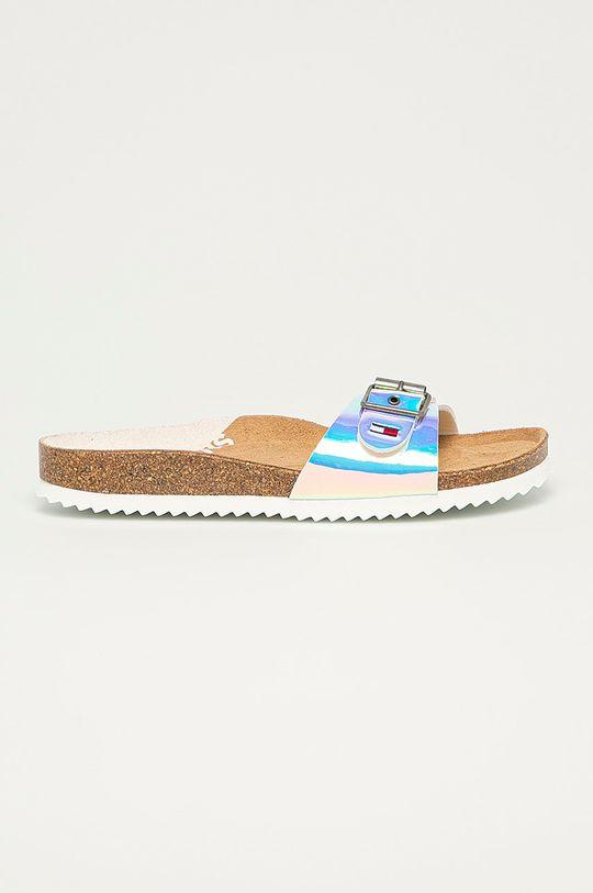 alb Tommy Jeans - Papuci De femei