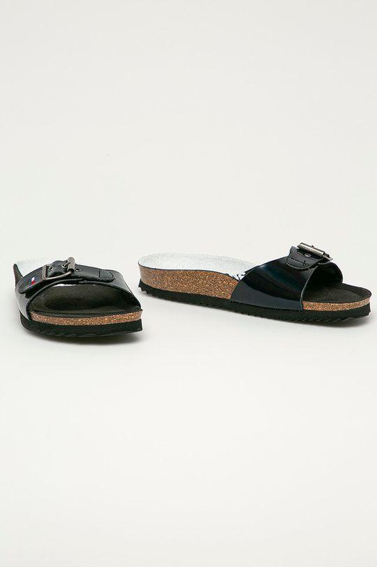 Tommy Jeans - Papuci negru