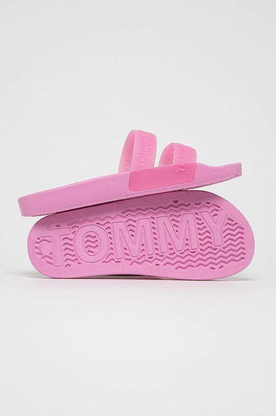 Tommy Jeans - Pantofle růžová